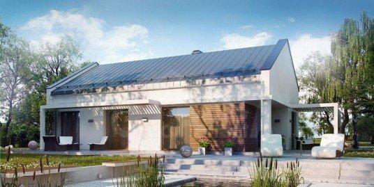 Proiect casa cu mansarda A41