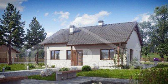 Proiect casa cu mansarda A53