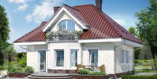 Proiect casa parter cu mansarda 180mp