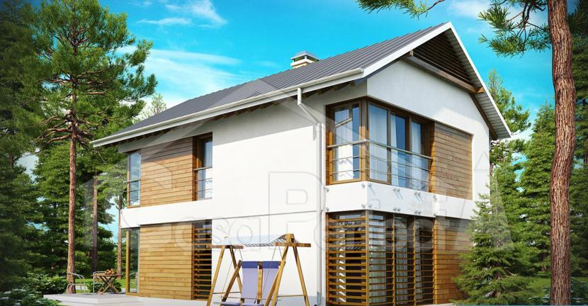 Proiect casa parter cu etaj A88
