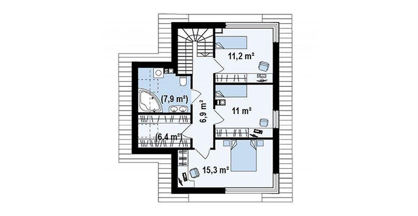Proiect-Casa-cu-Mansarda-155011-mansarda