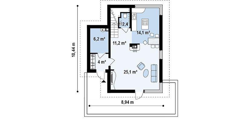 Proiect-Casa-cu-Mansarda-155011-parter