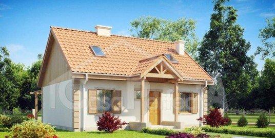 Proiect casa parter cu mansarda A97