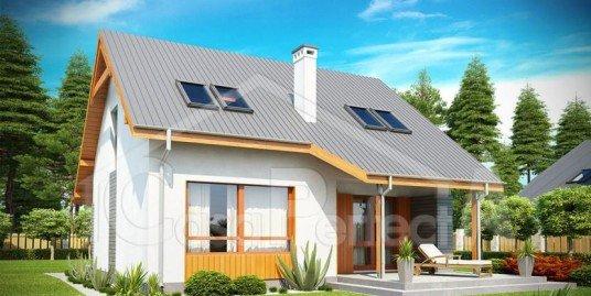Proiect casa parter cu mansarda A86