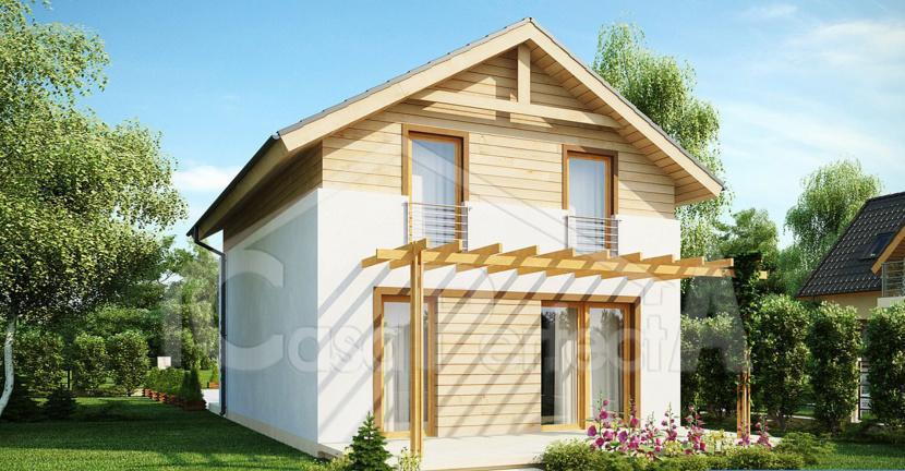 Proiect casa parter cu etaj A62