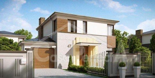 Proiect casa parter cu etaj A105