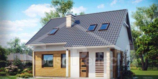 Proiect casa parter mansarda A87