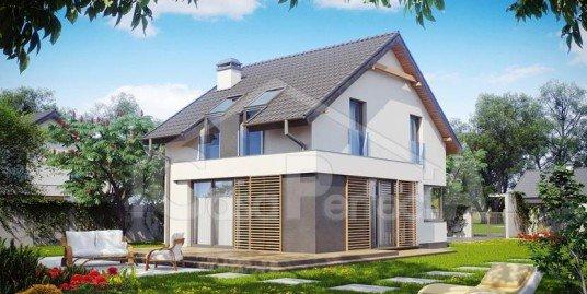 Proiect casa parter cu mansarda A69