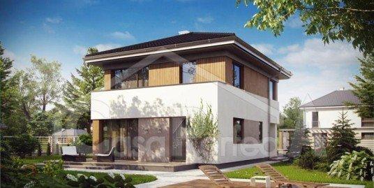 Proiect casa parter cu etaj A90