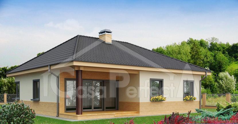 Proiect casa parter a64 for Case parter 3 camere