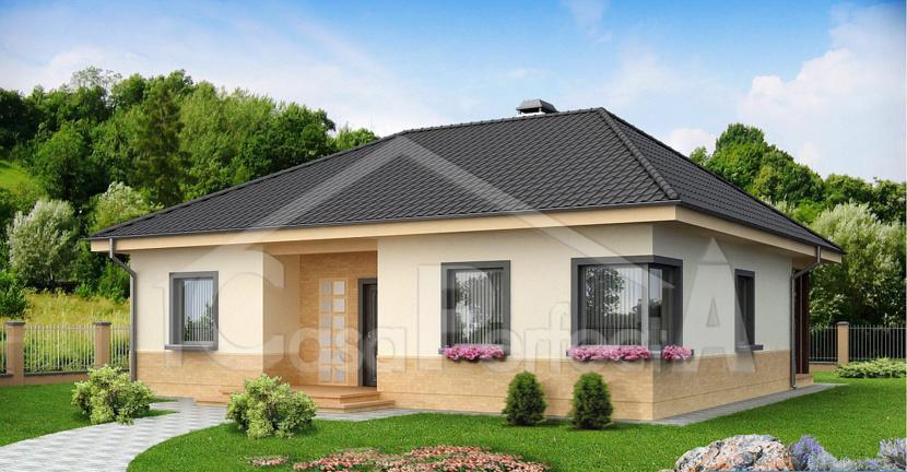 Proiect casa parter a64 for Case parter