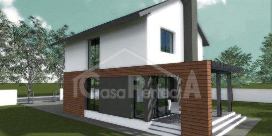 Proiect casa parter plus mansarda A59