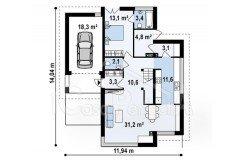 Proiect-casa-cu-Mansarda-si-Garaj-e25011-parter