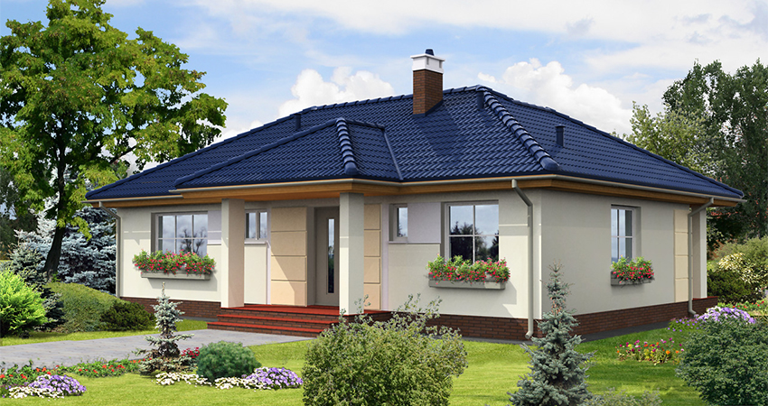 Proiect casa 109 mp compania de constructii casa for Proiect casa 100 mp fara etaj
