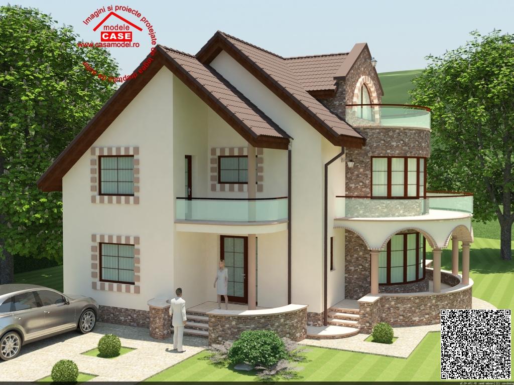 Proiect casa 220 mp compania de constructii casa for Proiecte case cu mansarda 2017
