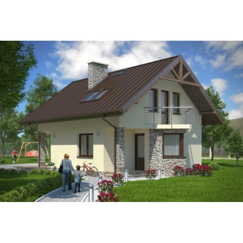 Proiect casa 160 mp compania de constructii casa for Case din lemn pret 5000 euro