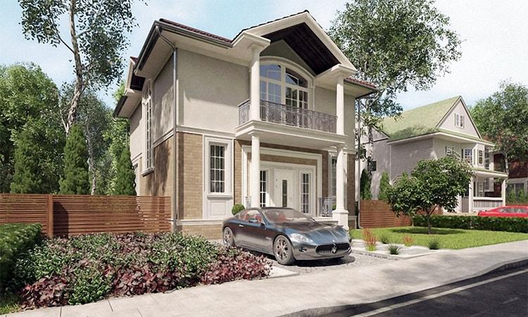 Проект дома на 153 кв.м