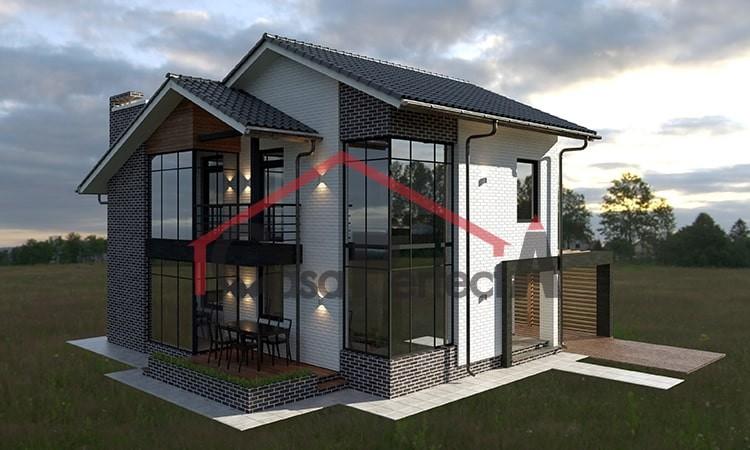 Проект дома на 163 кв.м